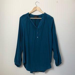 YUMI KIM long sleeve blouse, size small
